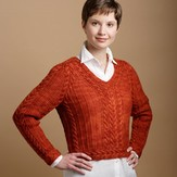 Shibui Cabled Raglan Sweater