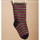 Shibui Striped Christmas Stocking