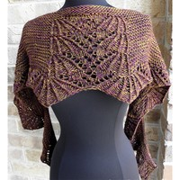 Short and Sweet Shawl