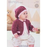Sirdar 1424 Jacket and Beret
