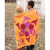 Spud & Chloë 9512 Flower Power Throw - 9512pdf