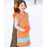 Spud & Chloë by Blue Sky Fibers 9531 Half-Pint Dress
