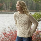 Swans Island Weekend Pullover PDF