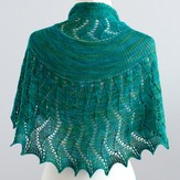 SweetGeorgia Rushing Tide Shawl PDF