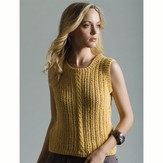 Tahki Yarns Corn Silk Shell (Free)