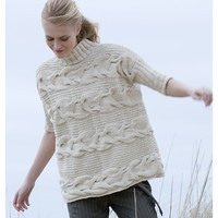 Georgica Horizontal Cable Pullover (Free)