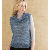 Stacy Charles Fine Yarns Anais Cowl-Collar Vest PDF