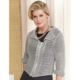 Stacy Charles Fine Yarns Nathalie Mesh Jacket PDF