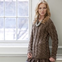 Gwyneth Cabled Cardigan PDF