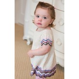 Tahki Yarns Chevron Empire Dress PDF