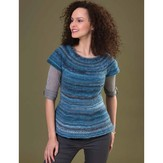 Tahki Yarns Pleasure Top-Down Tunic PDF