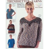 Trendsetter Yarns 4801A  A Passion for Pullovers Book #1