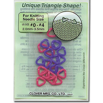 Clover Stitch Holders Clover Stitch Markers Triangle