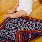 Twist Collective Sleepy Monkey Blanket