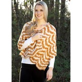 Rozetti Climbing Leaves Shawl (Free)