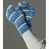 Wisdom Yarns Adult's Sparkling Winter Mittens (Free)