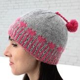 Valley Yarns  640 Heart Pops Hat (Free)