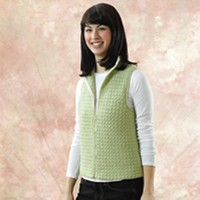 144 Sweet Pea Crocheted Vest