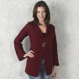 Valley Yarns 304 Pomona Crocheted Cardigan