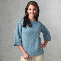 333 Turquoise Pullover