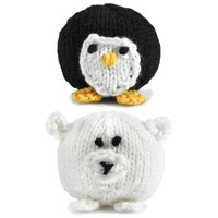 347 Knit Penguins and Polar Bears (Free)