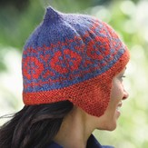 Valley Yarns 432 Gnomey Earflap Hat