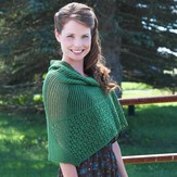 Valley Yarns 496 Greenway Shawl