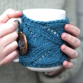 Valley Yarns 510 Fancy Mug Cozy (Free)