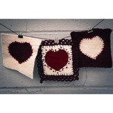 Valley Yarns 526 Heartfelt Coasters (Free)