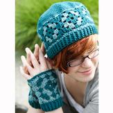 Valley Yarns 559 Marjoram Hat & Mitts