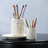 576 Knit Lace Jar Covers (Free)