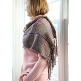 Valley Yarns 582 Hen Plaid Wrap