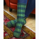 Valley Yarns 647 Tokudama Striped Socks
