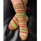 Valley Yarns B4 Basic Toe-Up Socks