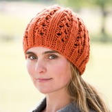 Vermont Fiber Designs Double Lace Rib Hat PDF