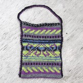 5-Color Stranded Knit bag