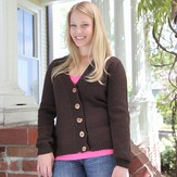 First Cardigan with Set-In Sleeves*