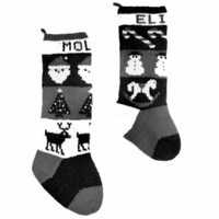 24 Traditional Christmas Stockings